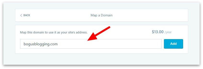 Map a Domain ‹ bogusblogging — WordPress.com