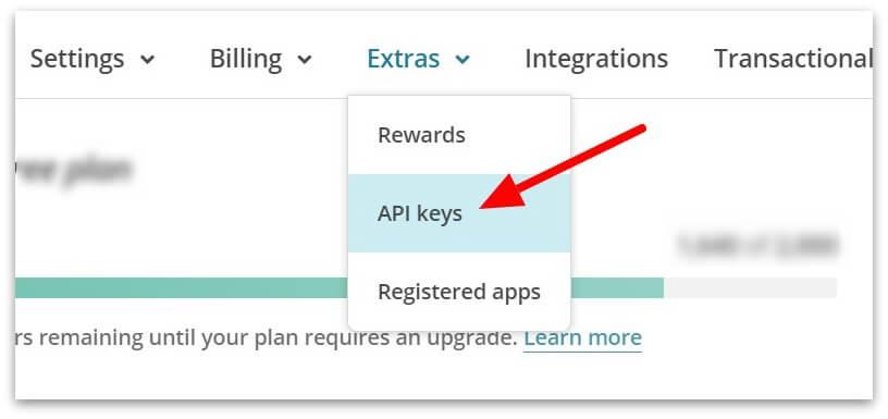 generate-api-keys-in-mailchimp-plugin